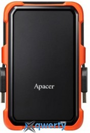 Apacer 2.5 USB 3.1 2TB AC630 Black/Orange (AP2TBAC630T-1)