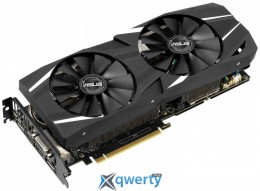 Asus PCI-Ex GeForce RTX 2060 Dual А6G Advanced Edition 6GB GDDR6 (192bit) (1695/14000) (DisplayPort, HDMI, DVI-D) (DUAL-RTX2060-A6G)