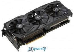 Asus PCI-Ex GeForce RTX 2060 ROG Strix 6G Gaming 6GB GDDR6 (192bit) (1680/14000) (DisplayPort, HDMI) (ROG-STRIX-RTX2060-6G-GAMING)