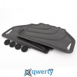 BMW X3 (F25), X4 (F26) задние резиновые (черные) (51472286003)