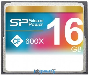 Silicon Power 16GB CF 600X (SP016GBCFC600V10)
