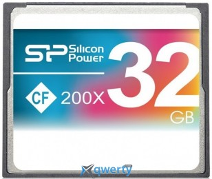 Silicon Power 32GB CF 200X (SP032GBCFC200V10)