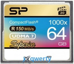 Silicon Power 64GB CF 1000X (SP064GBCFC1K0V10)