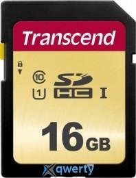 Transcend 16GB SDHC C10 UHS-I R95/W60MB/s (TS16GSDC500S)