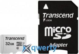 Transcend 32GB microSDHC C10 UHS-I R95/W45MB/s + SD адаптер (TS32GUSD300S-A)