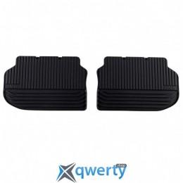 BMW 5 (F10, F11) коврики оригинальные для  задние резиновые черные (51472346785)