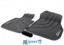 BMW X1 F48 коврики передние резиновые черные (51472365855)