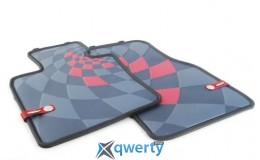Mini front rubber factory floor mats set JCW Pro (51472354162)