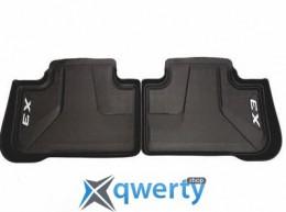 BMW напольные коврики для BMW X3 G01, задние (51472450515)