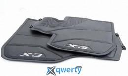 BMW всепогодные ножные коврики для X3 G01, передние (51472450511)