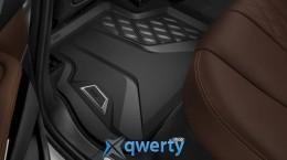 Всепогодные напольные коврики для BMW X5 G05, задние (51472458552)