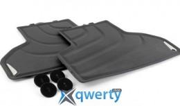 Всепогодные ножные коврики для BMW X6 F16, задние (51472458441)