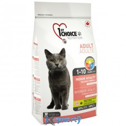 1st Choice (Фест Чойс) с курицей (Chicken Indoor Vitality) 2,72 кг.(ФЧККВ2,72)