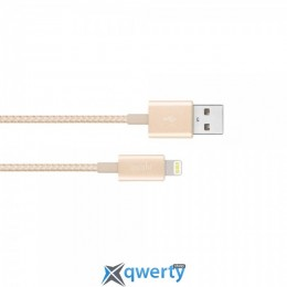 Moshi Integra™ Lightning to USB Cable Satin Gold (1.2 m) (99MO023223)