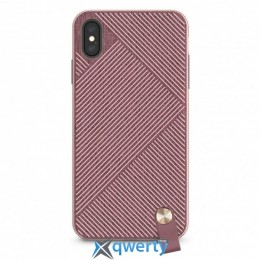 Moshi Altra Slim Hardshell Case With Strap Blossom Pink for iPhone XS Max (99MO117302)