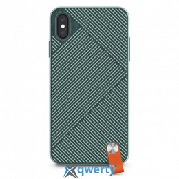 Moshi Altra Slim Hardshell Case With Strap Mint Green for iPhone XS Max (99MO117602)