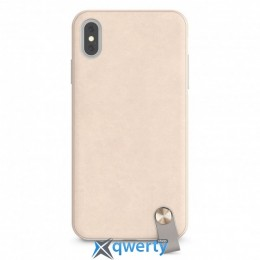 Moshi Altra Slim Hardshell Case With Strap Savanna Beige for iPhone XS Max (99MO117112)