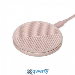 Native Union Drop Wireless Charger Fabric Rose (DROP-ROSE-FB)