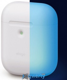 Elago A2 Silicone Case Nightglow Blue for Airpods with Wireless Charging Case (EAP2SC-LUBL)
