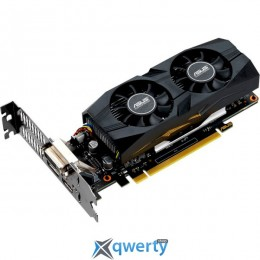 Asus PCI-Ex GeForce GTX 1650 Low Profile OC 4GB GDDR5 (128bit) (1485/8002) (DVI, HDMI, DisplayPort) (GTX1650-O4G-LP-BRK)