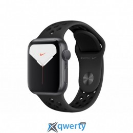 APPLE WATCH NIKE SERIES 5 GPS, 44MM SPACE GREY ALUMINIUM CASE WITH (MX3W2UL/A)