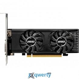 MSI PCI-Ex GeForce GTX 1650 Low Profile OC 4GB GDDR5 (128bit) (1695/8000) (DVI, HDMI) (GeForce GTX 1650 4GT LP OC)