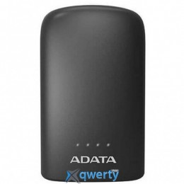 ADATA P10050V BLACK (10050MAH, OUT 2*5V*2,4A MAX, CABLE MICRO-USB) (AP10050V-DUSB-CBK)