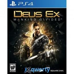 Deus Ex: Mankind Divided PS4 (русская версия)