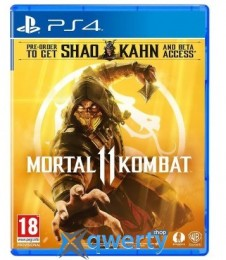 Mortal Kombat 11 PS4 (русские субтитры)