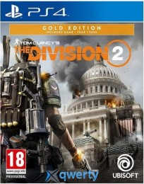 Tom Clancys The Division 2 Gold Edition PS4 (русская версия)