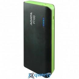 ADATA PT100 10000mAh Black-Green (APT100-10000M-5V-CBKGR)