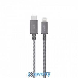 Moshi Integra USB-C to Lightning Cable Jet Silver 1.2 m (99MO084043)