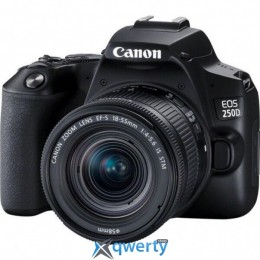 Canon EOS 250D kit 18-55 IS STM Black (3454C007)