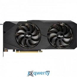 Asus PCI-Ex GeForce RTX 2080 Super Dual EVO V2 OC Edition 8GB GDDR6 (256bit) (1860/15500) (1 x HDMI, 3 x DisplayPort) (DUAL-RTX2080S-O8G-EVO-V2)