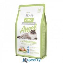 Brit Care Cat 2 kg Angel I am Delighted Senior (д/пожилых кошек) (1111141307)