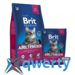 Brit Premium Cat Adult Chicken 8kg (д/взрослых с курицей) (1111143814)