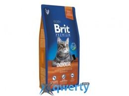 Brit Premium Cat Indoor 8 kg (д/ кошек, живущих в помещении) (1111143482)