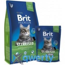 Brit Premium Cat Sterilized  800g (д/стерилизованных кошек) (1111143830)