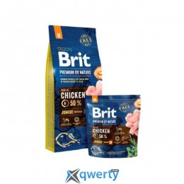 Brit Premium Dog Junior S 3 kg (1111150945)