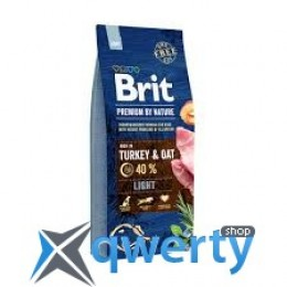 Brit Premium Dog Light  3 kg (1111150974)