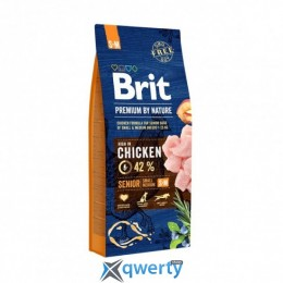 Brit Premium Dog Senior S+M  1 kg (1111150957)