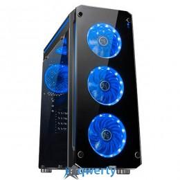 1stPlayer Firebase-X6 Blue LED Black