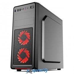 1stPlayer Black SIR-B4 Red LED Black