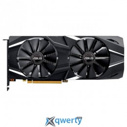 Asus PCI-Ex GeForce RTX 2070 8GB GDDR6 (256bit) (1650/14000) (HDMI, DisplayPort, USB) (DUAL-RTX2070-8G)