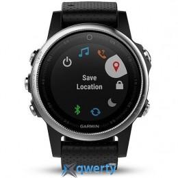 Garmin Fenix 5S GPS Watch Silver&black (010 - 01685 - 02)