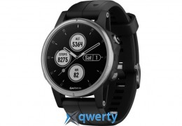 Garmin Fenix 5S plus Silver/Black (010-01987-21)
