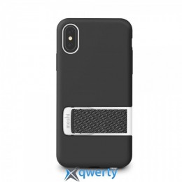 Moshi Capto Slim Case with MultiStrap Mulberry Black for iPhone XS/X (99MO114003)