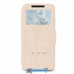 Moshi SenseCover Touch-Sensitive Portfolio Case with SensArray Savanna Beige for iPhone XS Max (99MO072112)