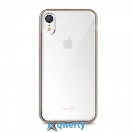 Moshi Vitros Slim Clear Case Champagne Gold for iPhone XR (99MO103301)