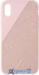 Native Union Clic Canvas Rose for iPhone XS/X (CCAV-ROSE-NP18S)